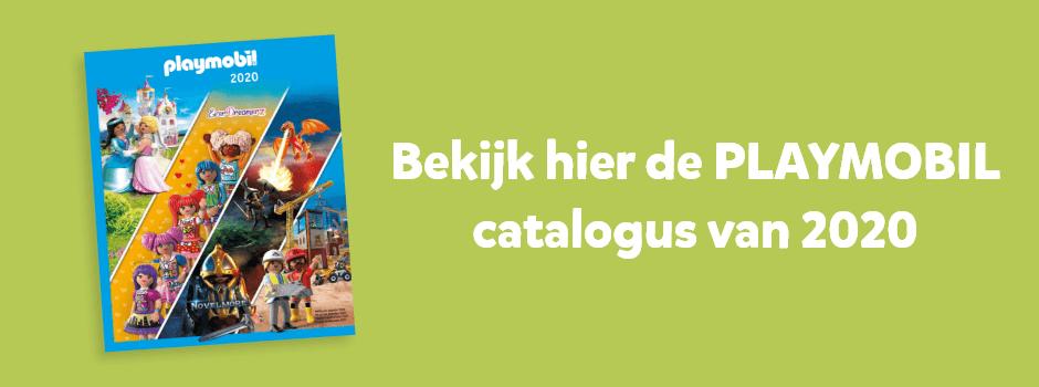 Bekijk hier de PLAYMOBIL catalogus van 2020