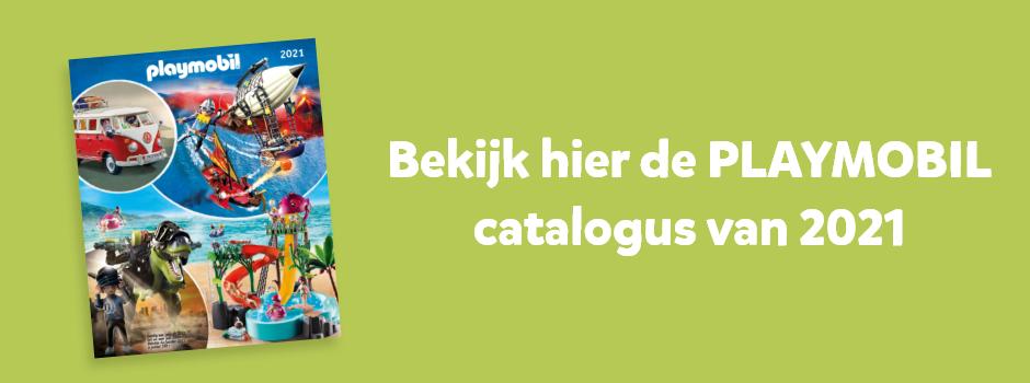 Bekijk hier de PLAYMOBIL catalogus van 2021