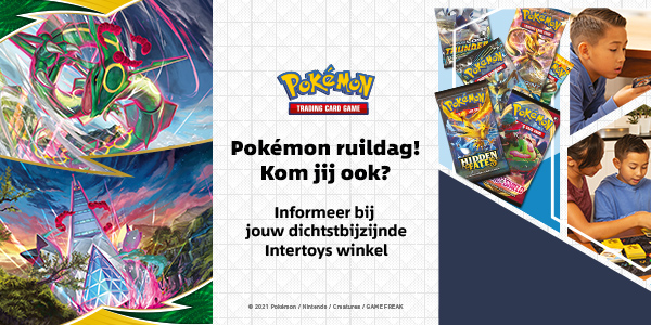 Pokémon ruildagen bij Intertoys