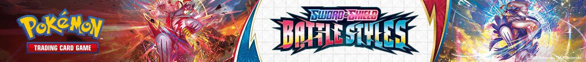 Pokémon Trading Card Game Sword & Shield Battle Styles