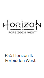 PS5 Horizon II: Forbidden West