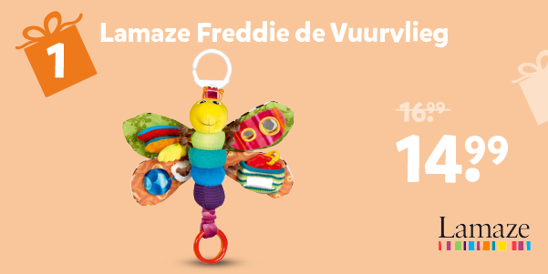 Lamaze Freddie de Vuurvlieg