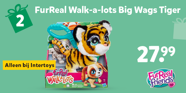 FurReal Walkalots Big Wags Tiger