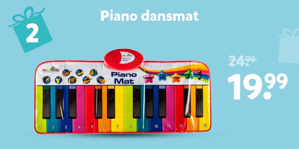 Piano dansmat