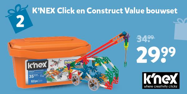 K'NEX Click en Construct Value bouwset
