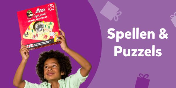 Spellen & Puzzels uit het Intertoys Speelboek