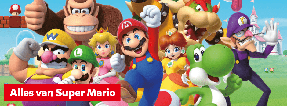 Alles van Super Mario