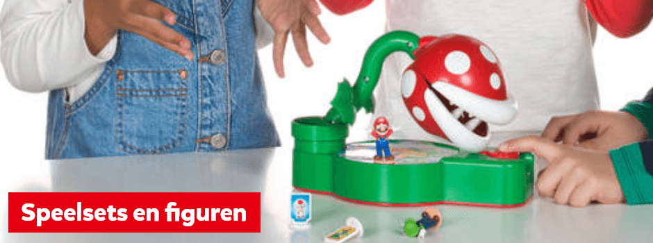 Super Mario speelsets en figuren