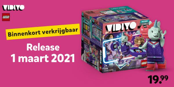 LEGO VIDIYO release 1 maart 2021