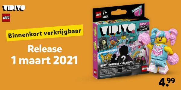 LEGO VIDIYO binnenkort verkrijgbaar
