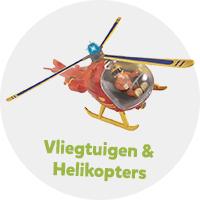Speelgoed vliegtuigen en helikopters