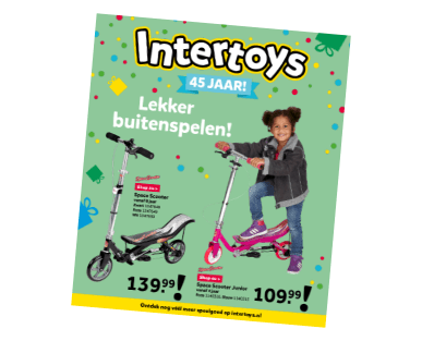 Intertoys buitenspeelgoed folder