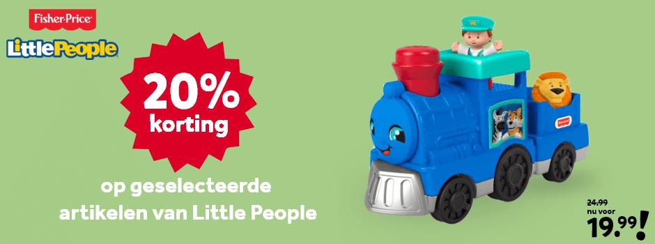 20% korting op geselecteerde Little People