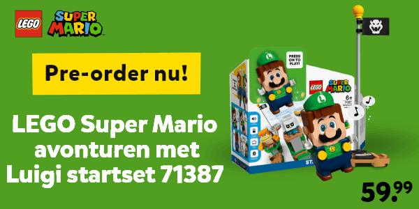 Pre-order nu LEGO Super Mario Luigi startset