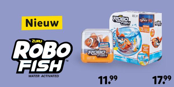 Nieuw Robofish