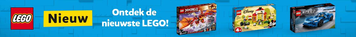 Ontdek de nieuwste LEGO!