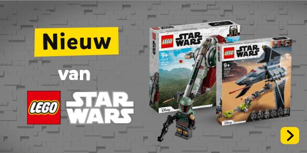 Nieuw van LEGO Star Wars