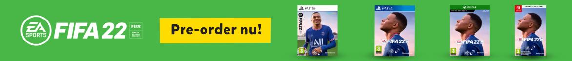 Pre-order FIFA 22 voor PS4, PS5, Switch en Xbox