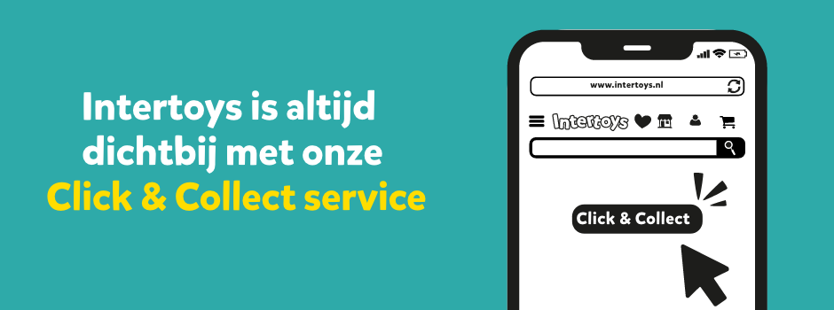Intertoys is altijd dichtbij met onze Click & Collect service