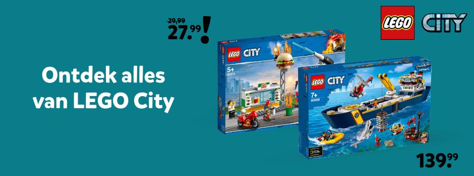 Ontdek alles van LEGO City bij Intertoys