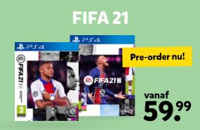 Pre-order nu FIFA 21 bij Intertoys