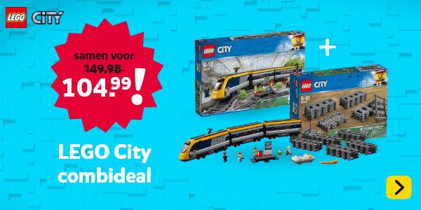 LEGO City Combi DEAL met Passagierstrein