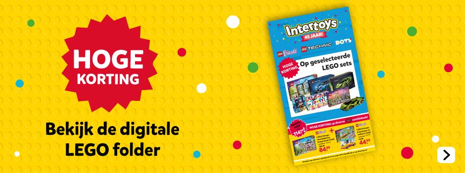 De nieuwste Intertoys LEGO folder