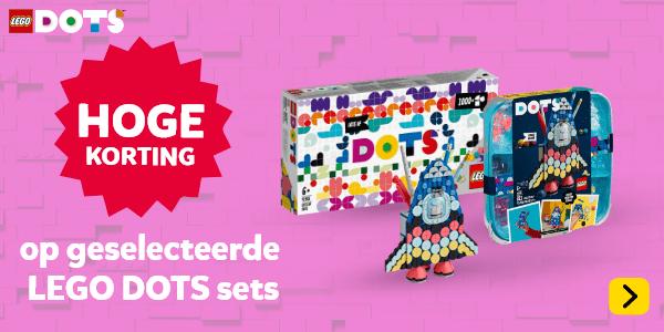 Hoge korting op geselecteerde LEGO DOTS speelsets