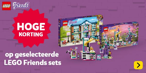 Hoge korting op geselecteerde LEGO Friends speelsets