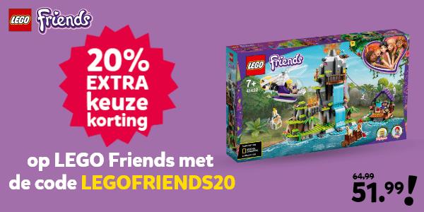 LEGO Friends kortingscode voor 20% keuzekorting