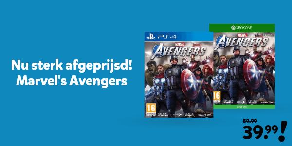 Nu sterk afgeprijsd bij Intertoys! Marvel's Avengers