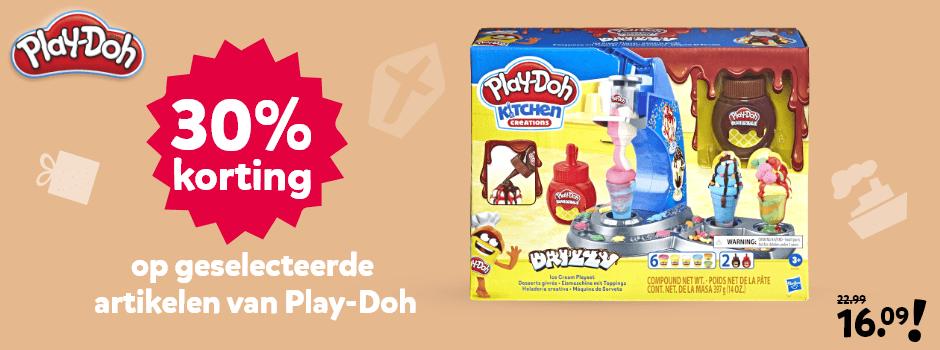 Korting op geselecteerde Play-Doh