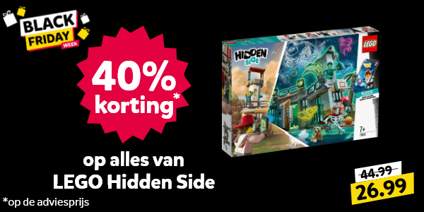 Black Friday LEGO Hidden Side korting