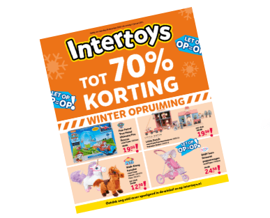 Intertoys winter opruiming folder