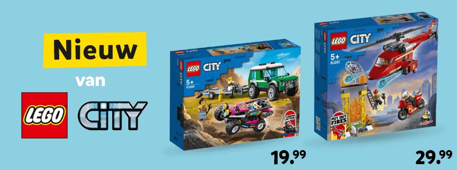 Nieuw van LEGO City