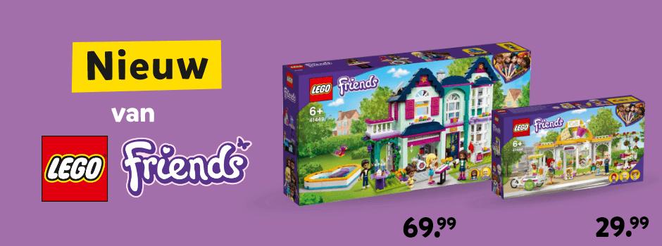 Nieuw van LEGO Friends
