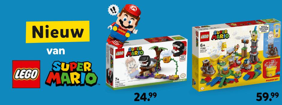 Nieuw van LEGO Super Mario