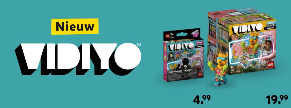 Nieuw: LEGO VIDIYO