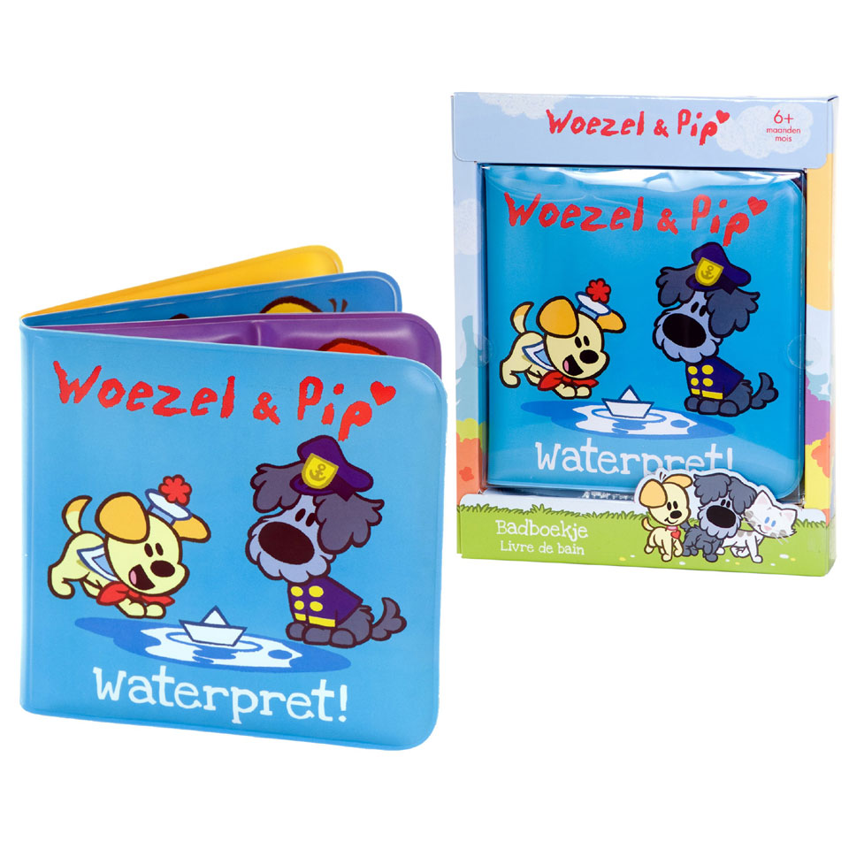 Woezel & Pip badboekje Hoera in bad!
