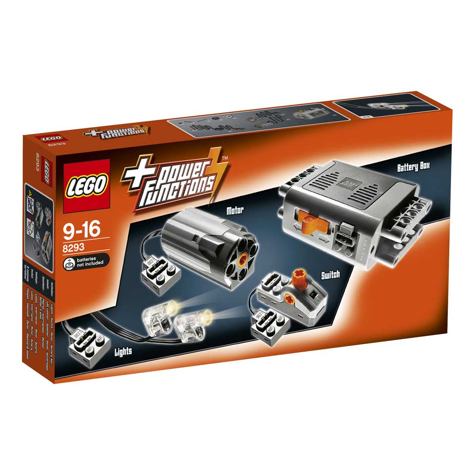 LEGO Technic Power Functions motorset 8293 - multikleur