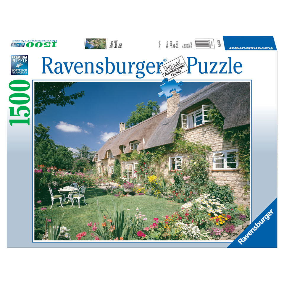 Ravensburger puzzel Cottage at Bredon Hill - 1500 stukjes