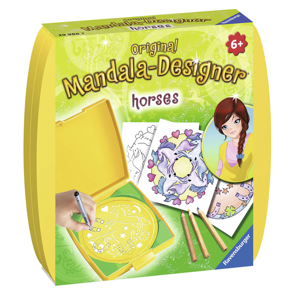 Ravensburger Mandala-Designer Paarden
