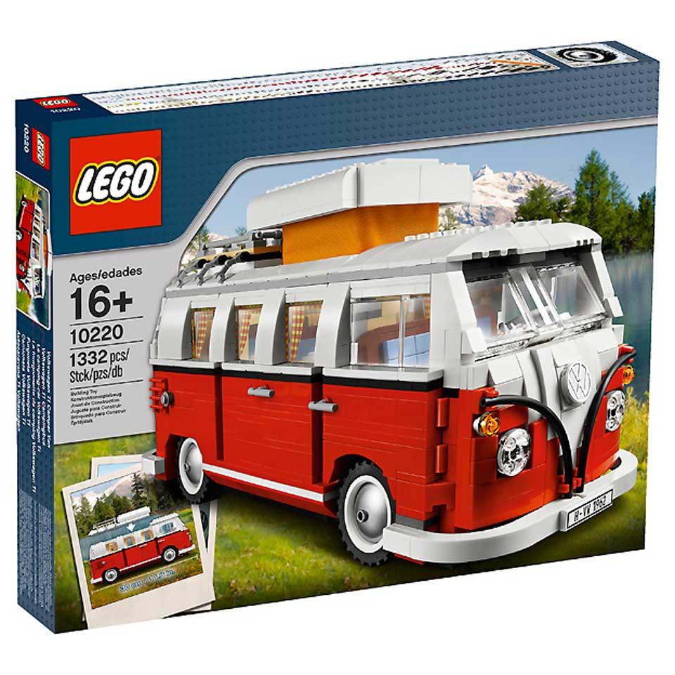 LEGO Creator Volkswagen T1 kampeerbus Van 3-in-1 10220