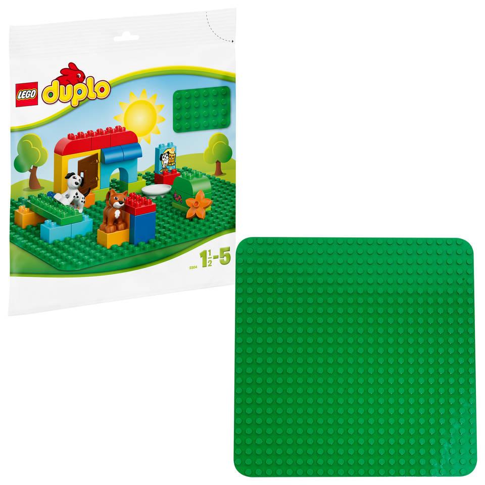 LEGO DUPLO groene bouwplaat 2304