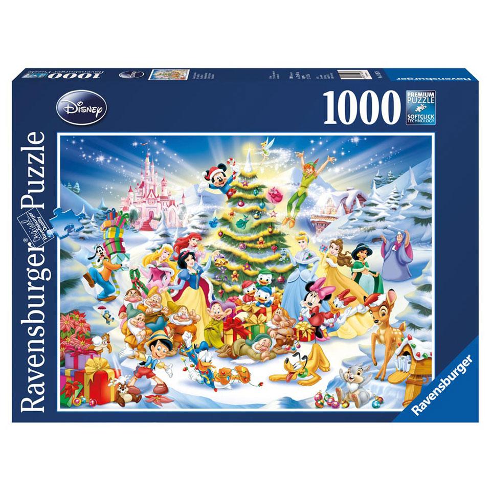 Ravensburger puzzel Kerstmis met Disney - 1000 stukjes