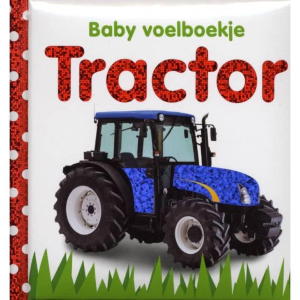 Baby voelboekje tractor
