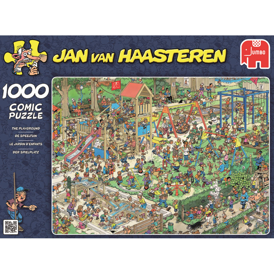 Jumbo Jan van Haasteren puzzel De speeltuin - 1000 stukjes