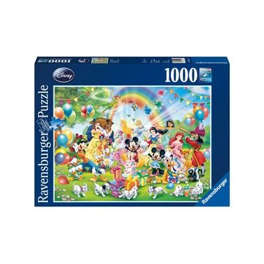 Ravensburger Disney Mickey puzzel Mickey is jarig - 1000 stukjes