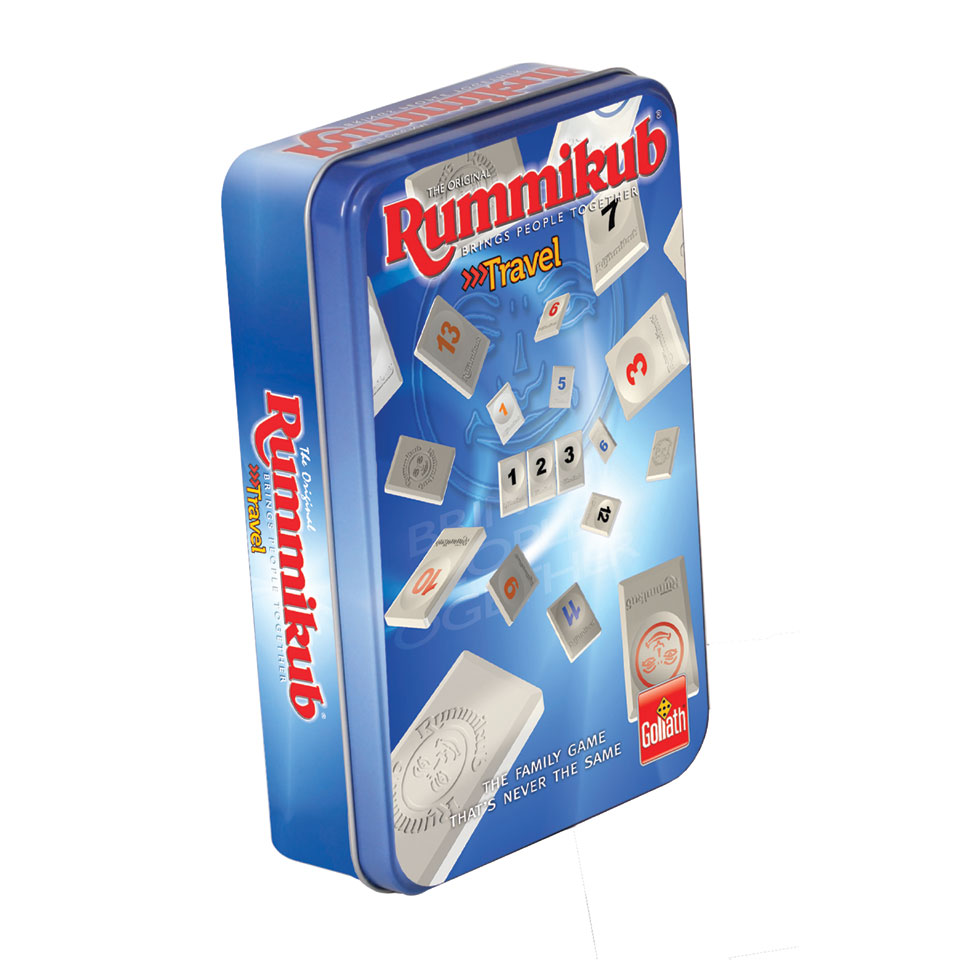 Rummikub in tin blik