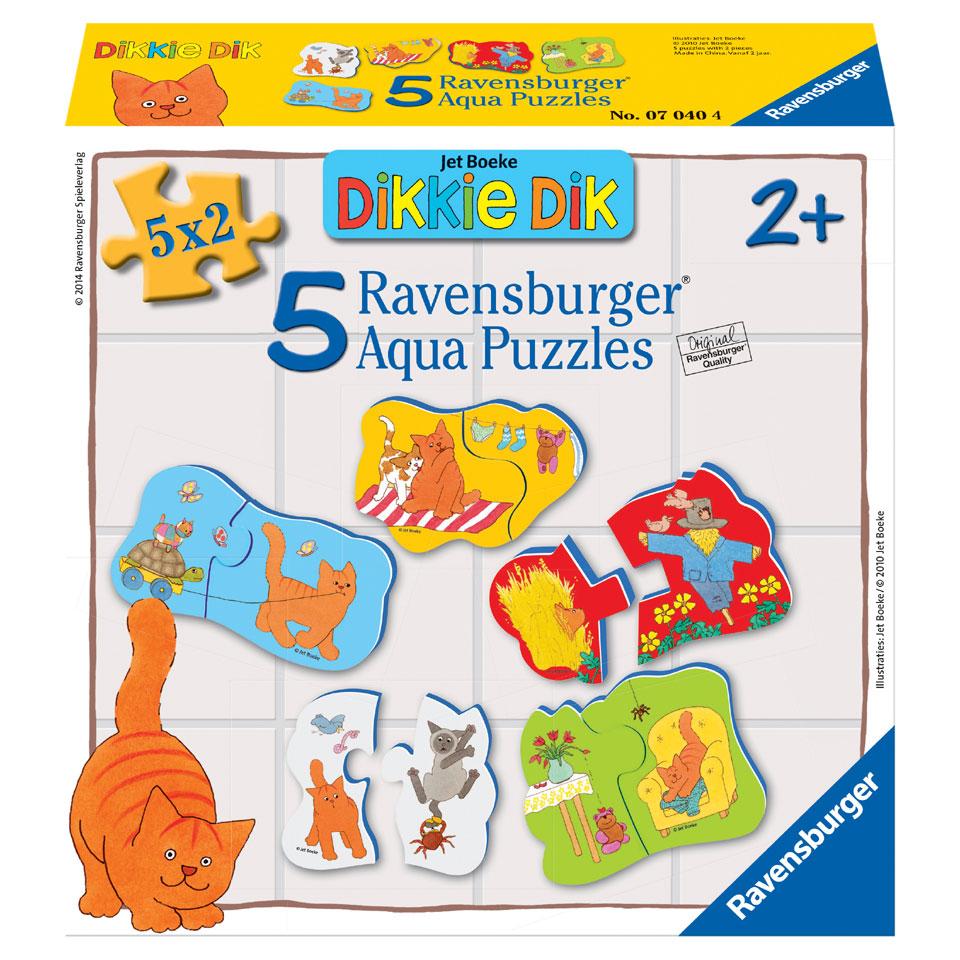 Ravensburger Dikkie Dik badpuzzel - 2 stukjes